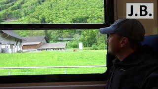 On the train from Zurich to Engelberg, SWITZERLAND