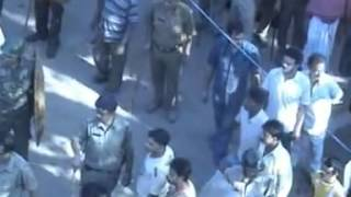 Watch how Indian Police wiped out Muslims Communal Violence evidence - Asansol New s