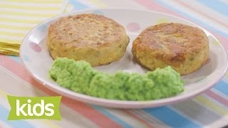 Fish Cake Recipe with Mushy Peas - As seen on The Voice Kids