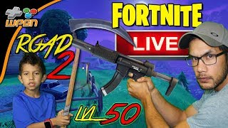 Level UP! Live Stream - Fortnite Battle Royale - Road to Level 50