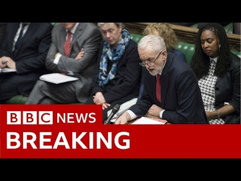 Labour leader Jeremy Corbyn: Extension is a diplomatic failure - BBC News