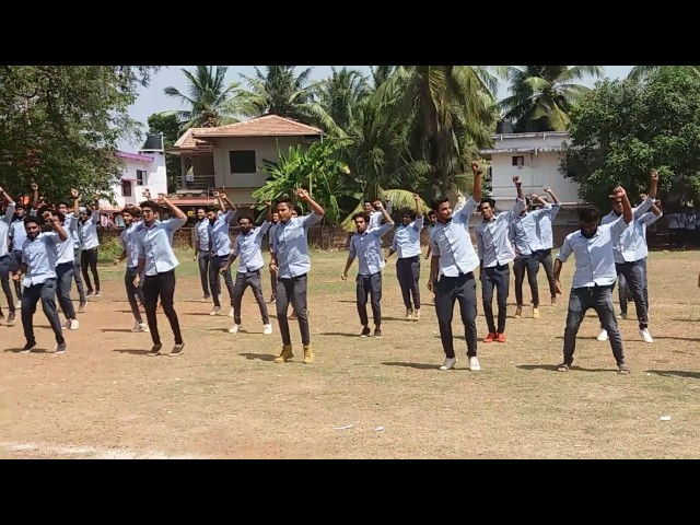 flash mob jamia hamdard off campus kannur city