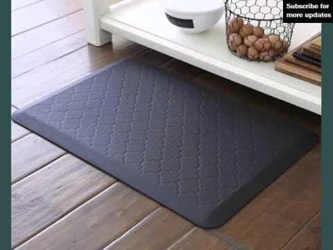 Cheap Kitchen Floor Mats Target Cabinet Mat For Comfort Youtube
