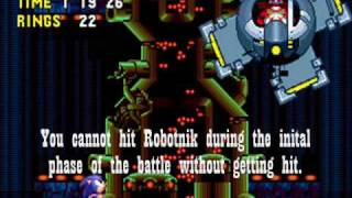Sonic CD - Boss Run
