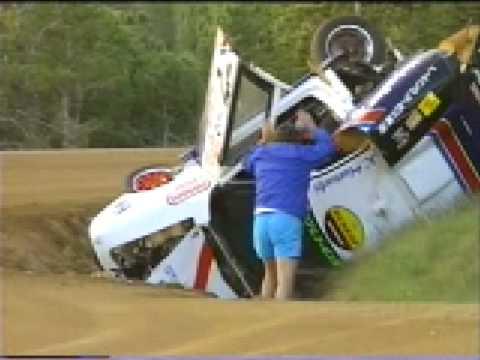 tvr crash at monteberg rally 1998 funnydog tv. Black Bedroom Furniture Sets. Home Design Ideas