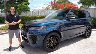 Is the NEW 2021 Range Rover Sport SVR Carbon Edition WORTH IT?