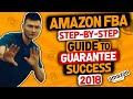 HOW TO AMAZON FBA (STEP BY STEP GOALS TO GUARANTEE SUCCESS SELLING ON AMAZON)