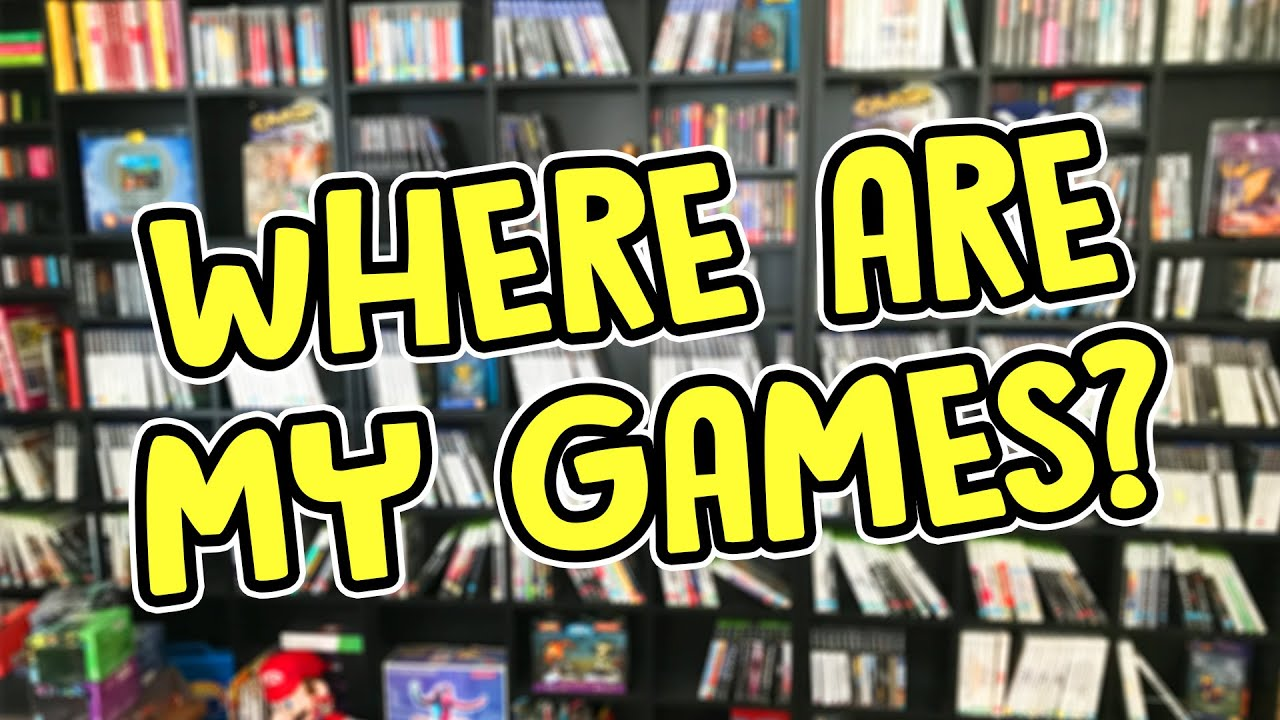 Where Are My Games? - Collection Update 2020