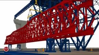 Steel Bridge Construction Phases