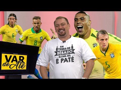 """RONALDO, ARTHUR, LATERAIS do FLAMENGO e mais """"europeus"""" no VAR do Alê Oliveira #26"""