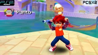 Ape Escape 2 -  PS2 Gameplay SD + FXAA (PCSX2)