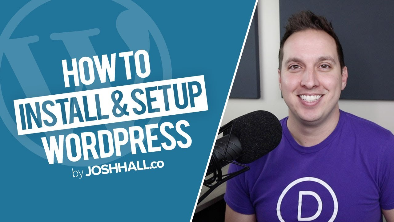How to Install & Set Up WordPress (Beginners Guide 2020)