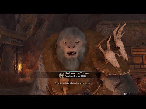 Shadow of War - When Hairy Beast Traitor Boss Betrays & Kills Talion