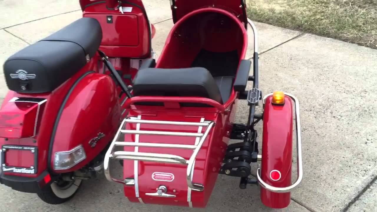 2012 Genuine Stella 150 With Sidecar For Sale Youtube