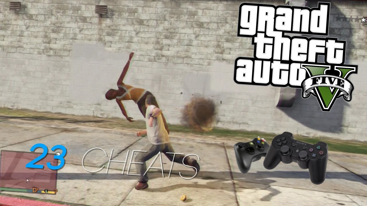 GTAV PS3 - 23 Cheat Codes By Owenn. - GTAV PS3 - 23 Cheat Codes By Owenn.