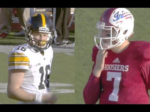 Iowa Hawkeyes vs Indiana Hoosiers Full game 07/11/2015 Week 10 College Football 2015