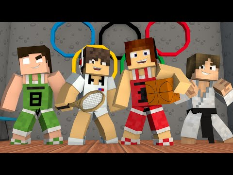 Miniatura de Minecraft: OLIMPÍADAS MINECRAFT !! – Casa Dos Youtubers #06