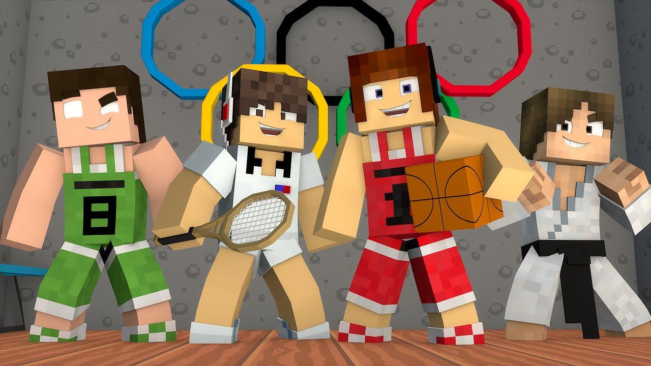 Minecraft Olimpíadas Minecraft Casa Dos Youtubers 06 Youtube