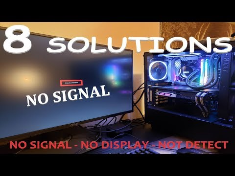 how-to-fix-computer-no-display-or-no-signal-monitor-?-2019