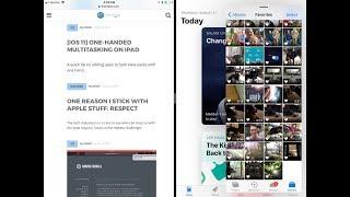 iOS 11 on iPad: One-handed multitasking
