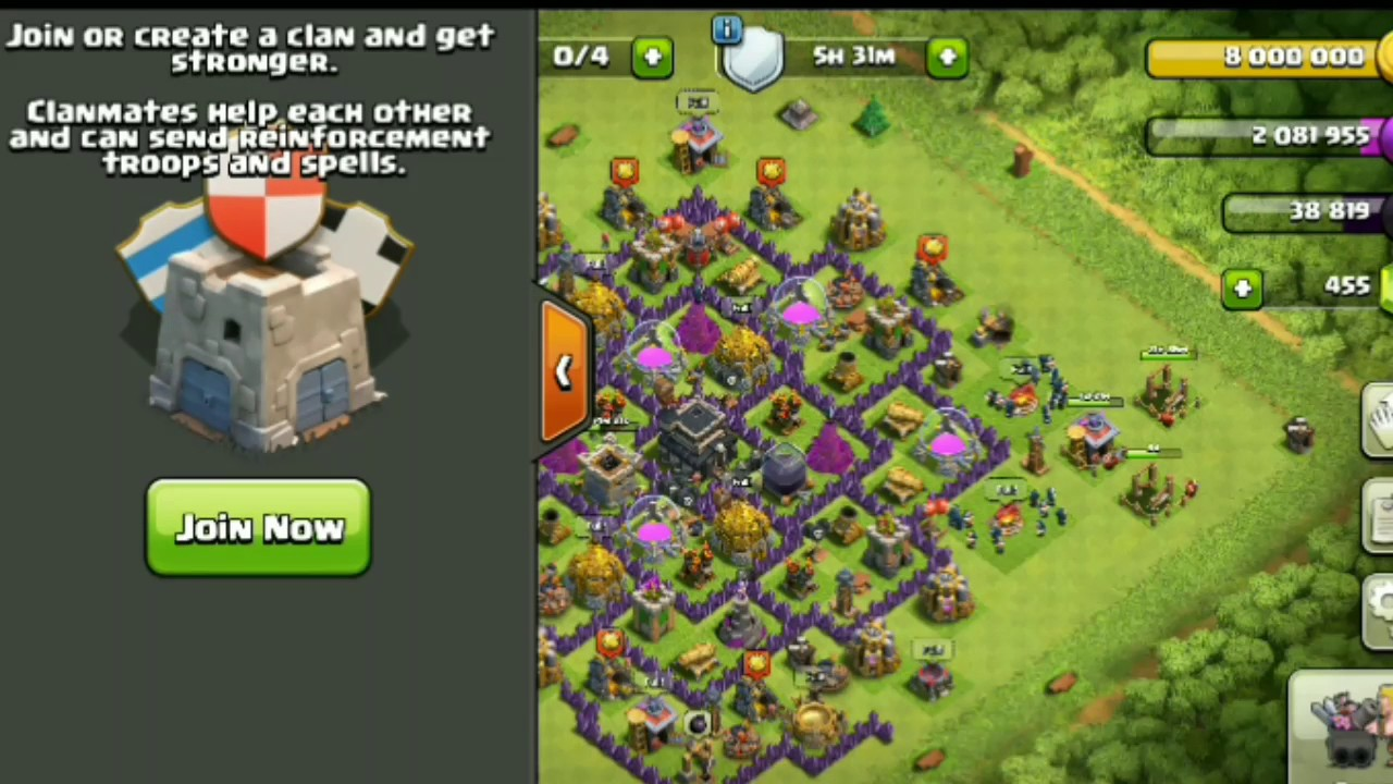 Clash of clans how to find clan members
