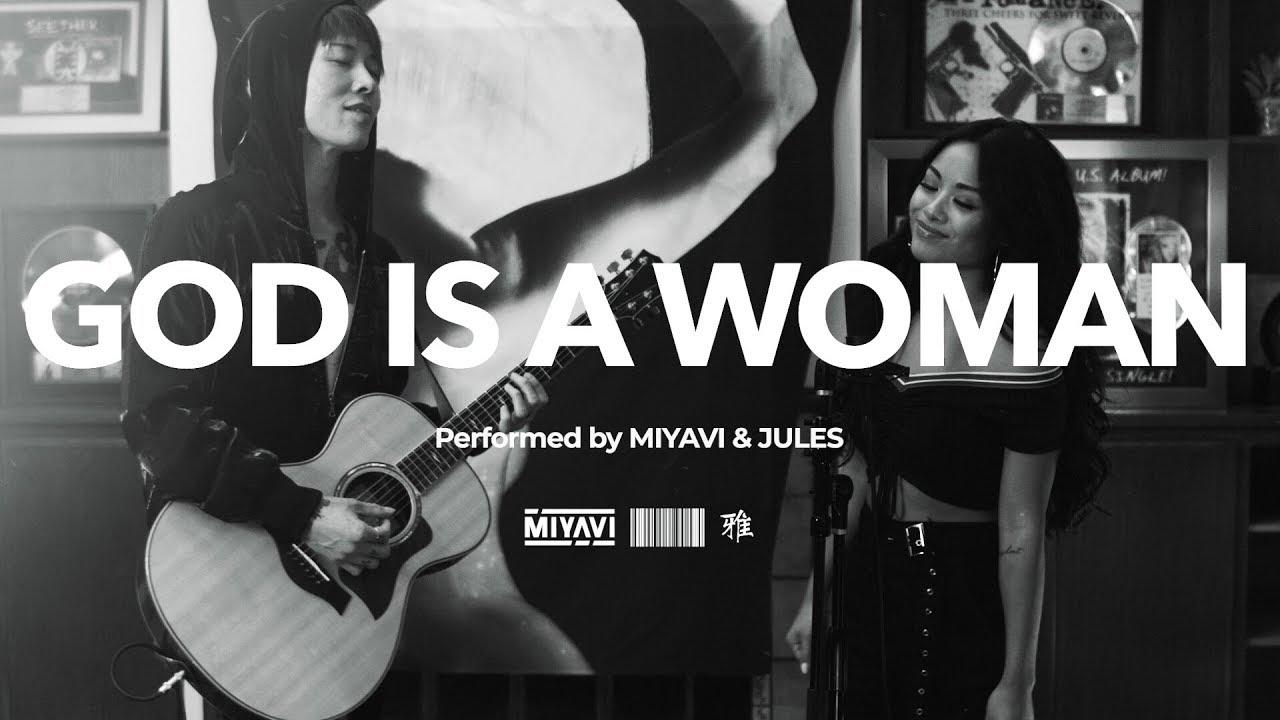Miyavi And Jules Aurora Covers Ariana Grande S God Is A Woman