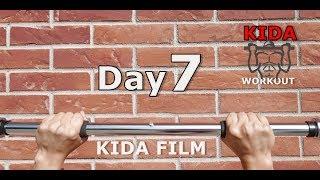 Day 7 /30 Pull-Up Calisthenics Workout Challenge   KIDA FILM