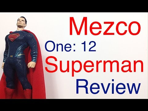 Mezco Toyz One: 12 Collective Batman V Superman: Dawn of Justice SUPERMAN Action Figure Review