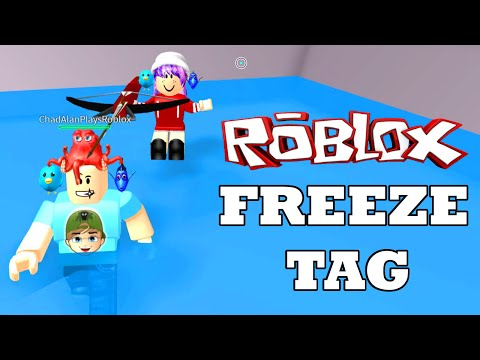 ROBLOX LET'S PLAY FREEZE TAG | RADIOJH GAMES & GAMER CHAD