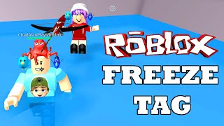 ROBLOX LET's PLAY FREEZE TAG | GIOCHI DI RADIOJH & CHAD GAMER