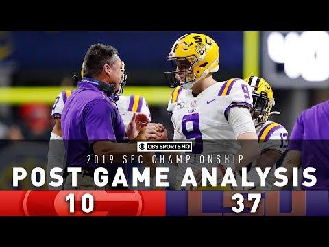 2019 SEC Championship Post Game Analysis: #4 Georgia Vs #2 LSU | CBS Sports HQ