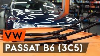 Jak vyměnit stěrače / list stěrače na VW PASSAT B6 (3C5) [NÁVOD AUTODOC]