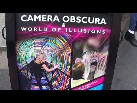 Camera Obscura  & World Of Illusions Museum. Edinburgh.