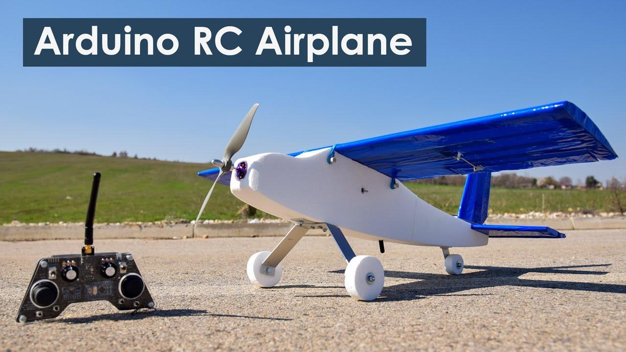 Arduino RC Airplane   100% DIY