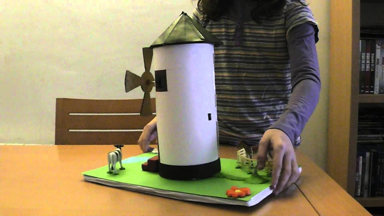 Molino con circuito elctrico  YouTube