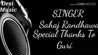 Shaniwar || Lyrical ll Latest Punjabi song ll Jaypee Sharma ll Desi Music ll