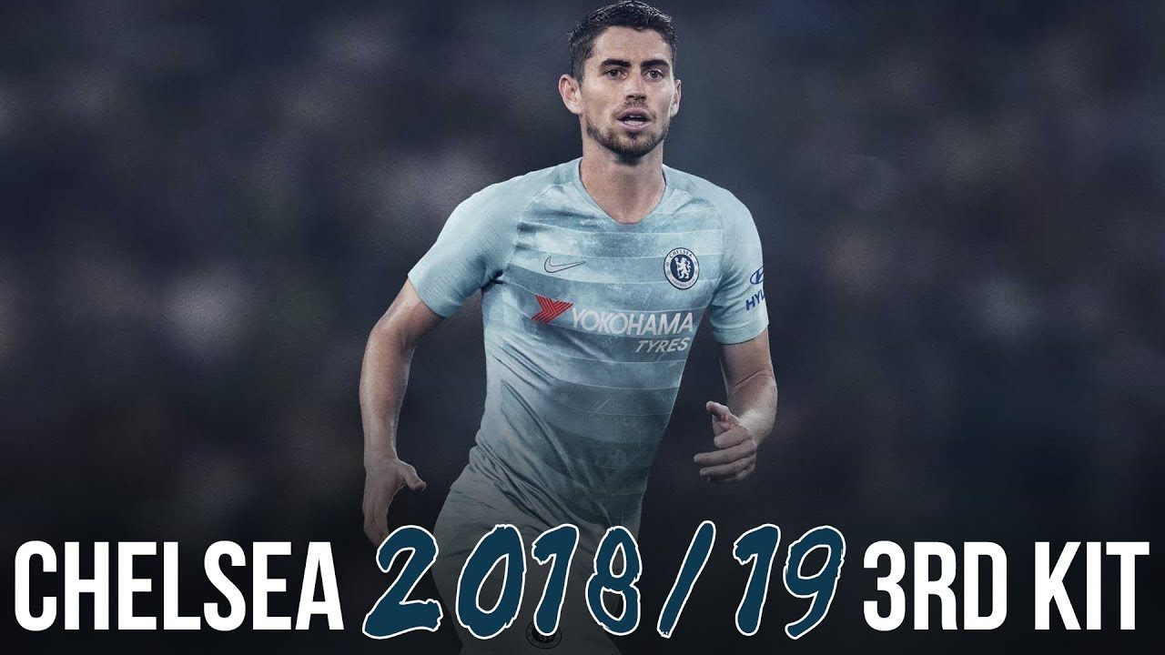 Chelsea 2018 2019 NIKE THIRD KIT  4bdf39f17