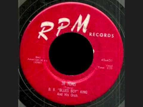 B.B. Blues Boy King - 16 Tons