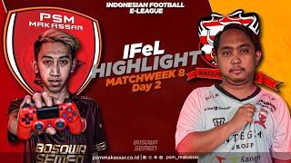 IFeL Reguler League Matchweek 8 Day 2 - PSM Makassar Vs Madura United