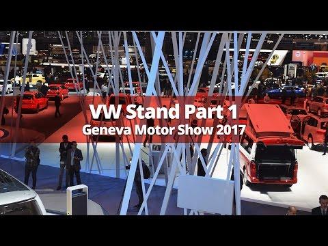 Volkswagen Stand Walkaround Part 1 - Geneva Motor Show 2017