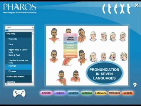 The Pharos Multilingual Illustrated Dictionary CD-ROM