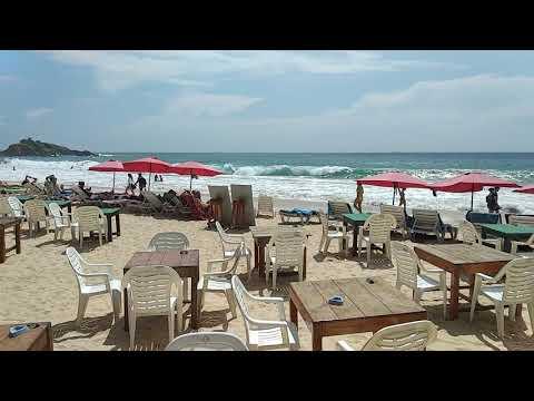 Mirissa beach Sri Lanka, never seen so much people there.