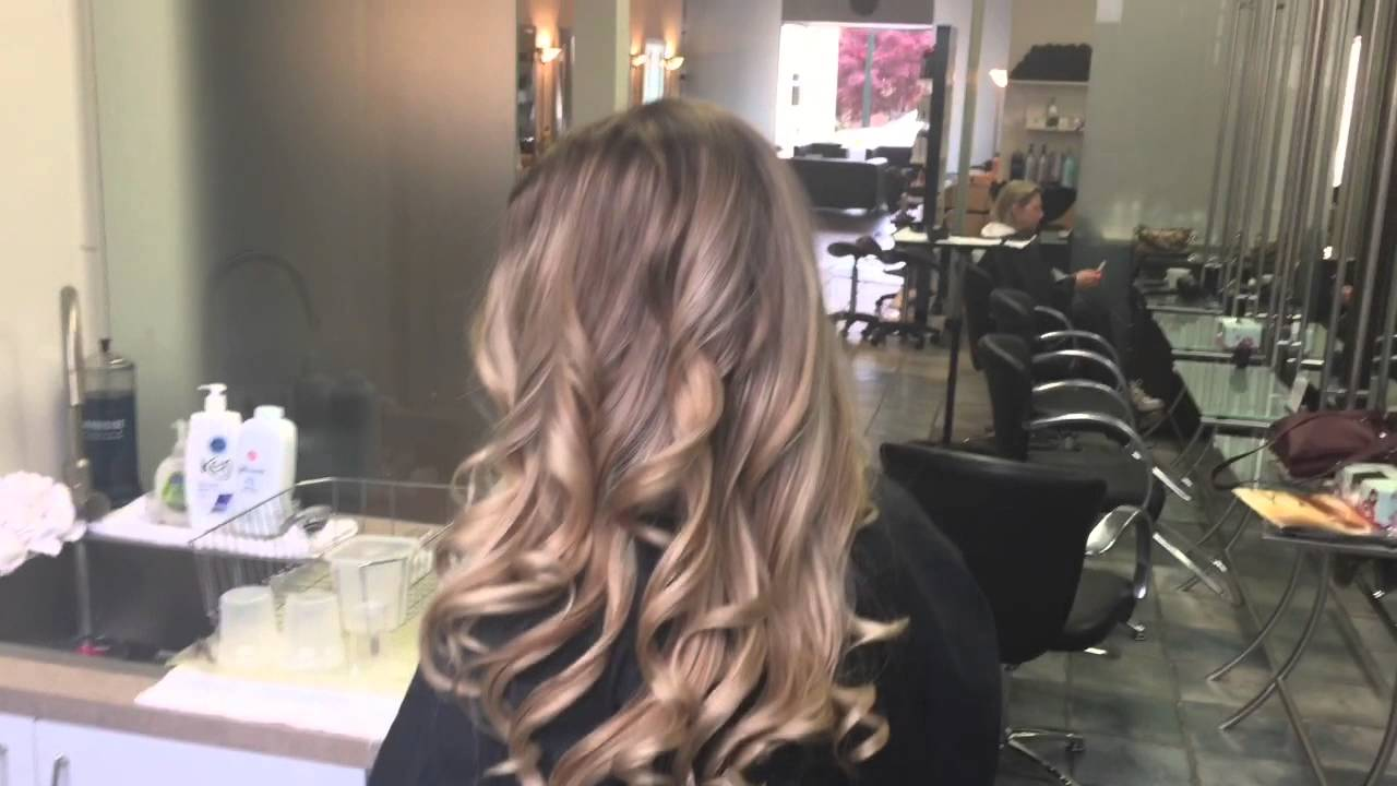 Balayage Sombre Ombre High contrast Hair