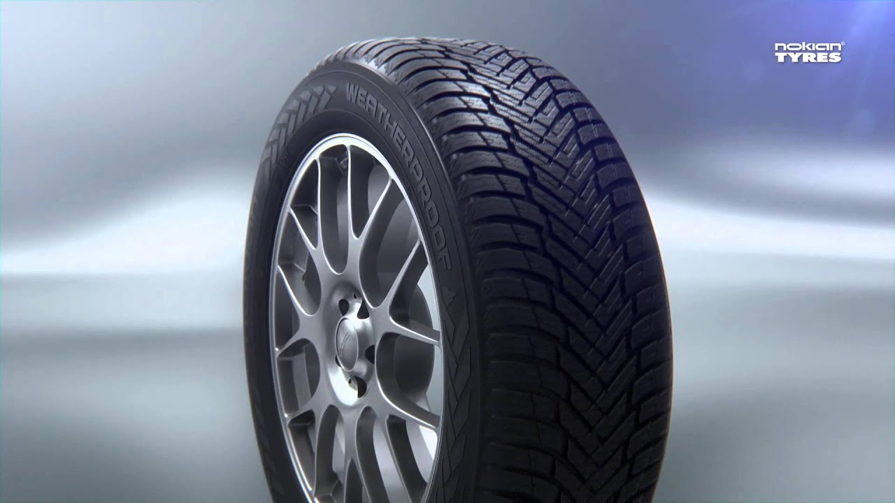 Nokian All Weather Tires >> Nokian Weatherproof - All-Weather tyres by Nokian Tyres - YouTube