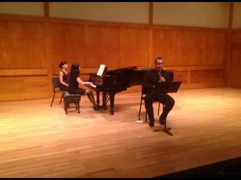 Muczynski Time Pieces and Bernstein Sonata