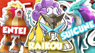 HOW TO GET ENTEI, RAIKOU, AND SUICUNE IN POKEMON BRICK BRONZE!!