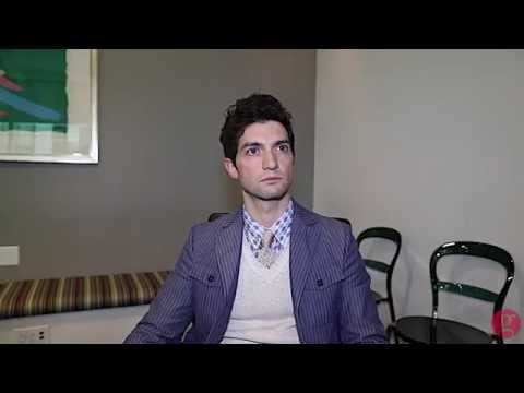 David Alpay on 'The Lottery'
