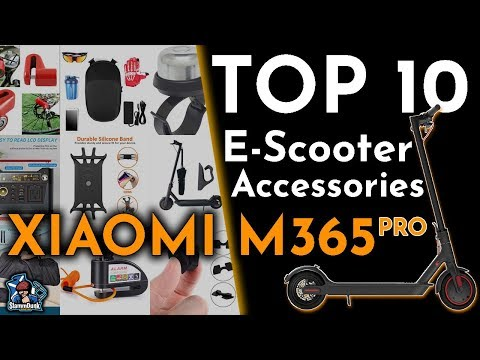 10 BEST Accessories for ELECTRIC SCOOTERS   Xiaomi M365 Pro
