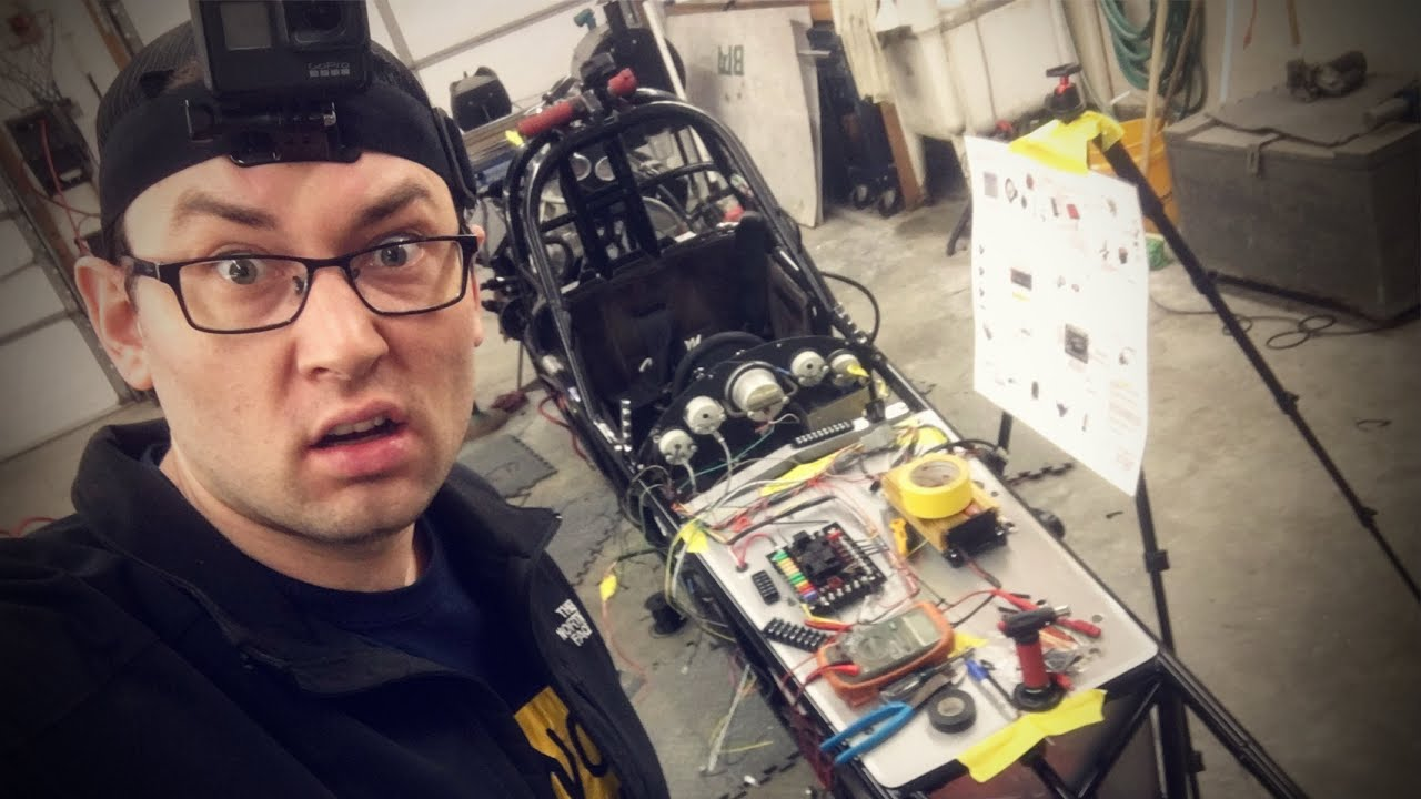 RACE CAR WIRING | Part 1 - Out With the Old...