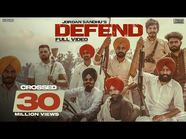 Defend (Full video) Jordan Sandhu | Snappy | Rav Hanjra | Bunty Bains |  Latest Punjabi Song 2020